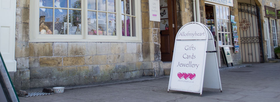 image of All of My Heart Shop, Broadway, Worcestershire